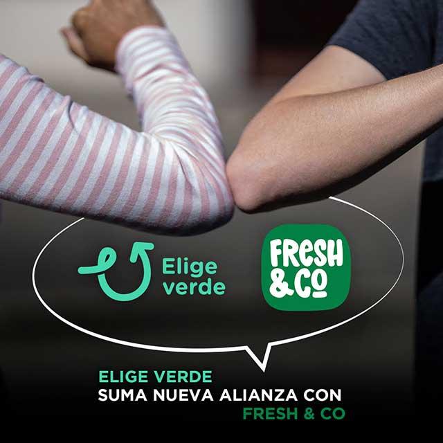 Elige Verde suma alianza con Fresh & Co