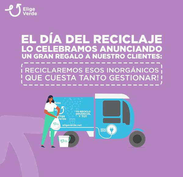 Para celebrar el mes de Reciclaje